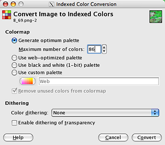 Raster Image - Color Reduction